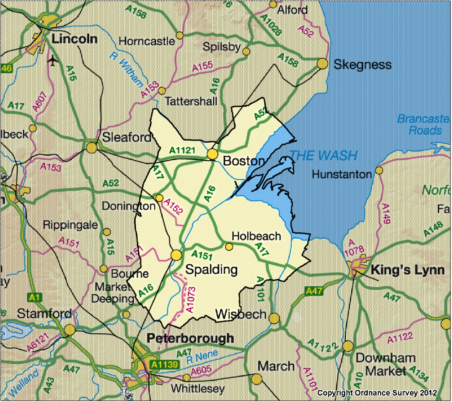 Where is South East Lincolnshire? | South East Lincolnshire ...